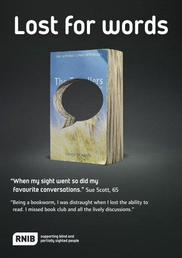 Lost for Words - PDF - RNIB