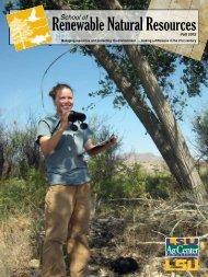 Download - LSU School of Renewable Natural Resources ...