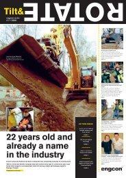 Excavators without tilt- rotators - Engcon