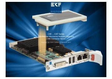 C4x Series Overview - Ekf