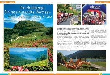 Die Nockberge - Roadbike Holidays