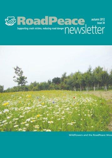 Autumn 2012 (Issue 34) - RoadPeace