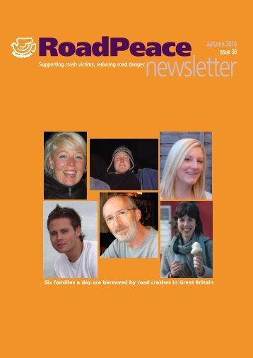 newsletter - RoadPeace