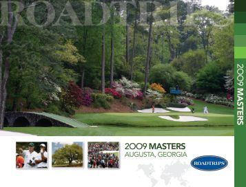 2009 Masters - Roadtrips Inc.: Amazing Travel Experiences