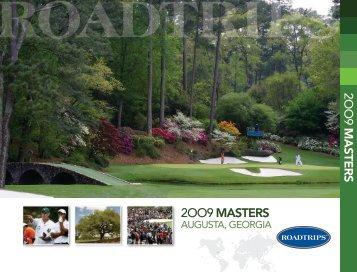 2009 Masters - Roadtrips Inc.: Amazing Travel Experiences