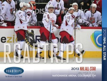 2O13 NHL ALL-STAR - Roadtrips Inc.: Amazing Travel Experiences