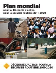 plans d'action - Road Safety Fund