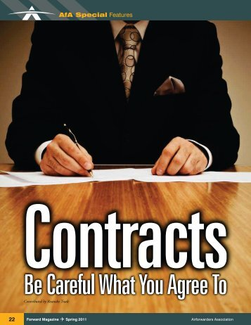 Be Careful What You Agree To - Roanoke Trade Services, Inc.