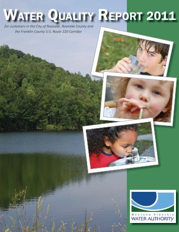2011 Water Quality Report for Customers in the City of Roanoke ...