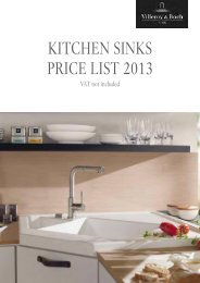 VB Kitchen Sinks Price List 2013