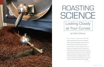 Roasting Science - Roast Magazine