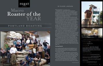 PORTLAND ROASTING - Roast Magazine