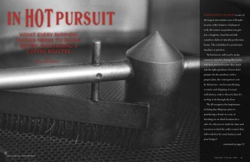 In Hot Pursuit - Roast Magazine