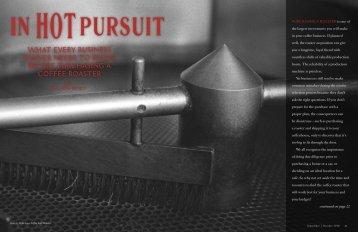 In Hot Pursuit - Roast Magazine