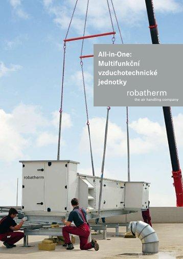 All-in-One: Multifunkční vzduchotechnické jednotky - robatherm