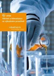ATEX Větrání a klimatizace ve výbušném prostředí - robatherm