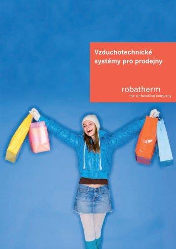 Vzduchotechnické systémy pro prodejny - robatherm