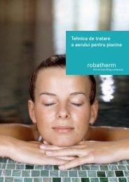 Tehnica de tratare a aerului pentru piscine - robatherm