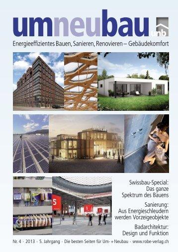 Aktuelle Ausgabe als PDF (31 MB) - Robe-Verlag AG