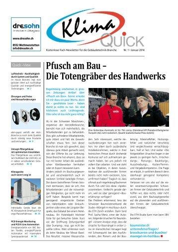 Pfusch am Bau– Die Totengräber des Handwerks - Robe-Verlag AG