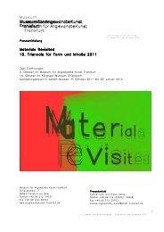 PM_Triennale 2011_14 - Museum für Angewandte Kunst Frankfurt