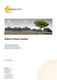 Robeco Chinese Equities - Robeco.com