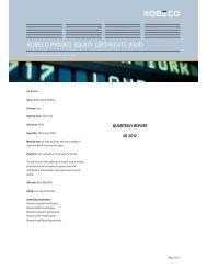 Quarterly report - Robeco.com
