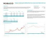 Fact sheet LDI funds (excl Alabama) - Robeco.com