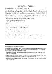 Exponentielle Prozesse, Einführungsaufgaben