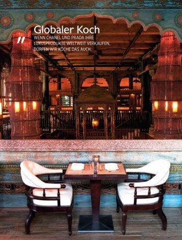 Globaler Koch - Robert Kropf