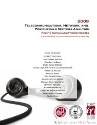 2009 Telecommunications, Network, and Peripherals Industry Report