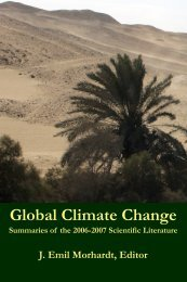 Global Climate Change - Roberts Environmental Center