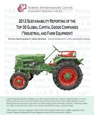 2012 Sustainability Reporting of the Top 30 Global Capital Goods ...