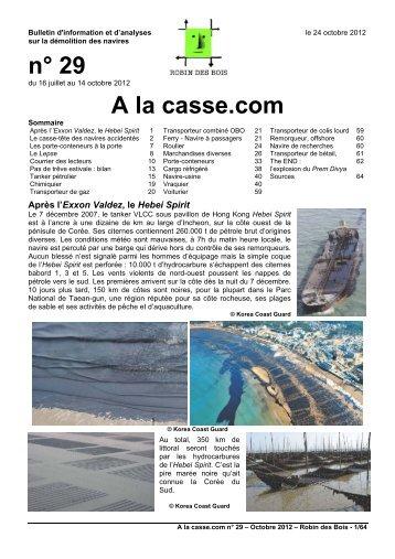 n° 29 A la casse.com - Robin des Bois