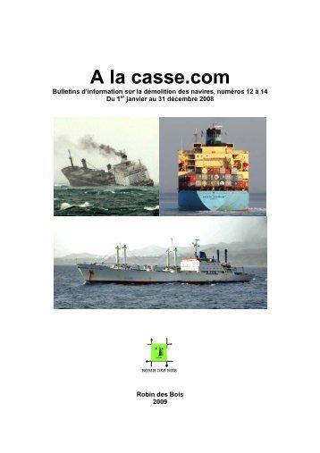 A la casse.com - Robin des Bois