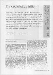 Du cachalot au tritium - Robin des Bois