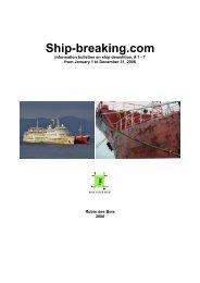 Ship-breaking.com - Robin des Bois
