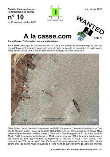 n° 10 A la casse.com - Robin des Bois