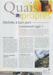 Déchets à bon port - Robin des Bois