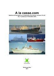 Recueil 2010. A la Casse.com numéros 19 à 22 - Robin des Bois