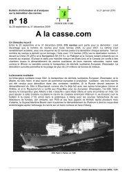 n° 18 A la casse.com - Robin des Bois