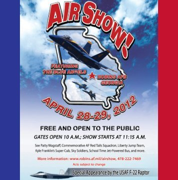 Air Show Guide - Robins Air Force Base