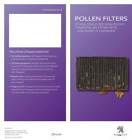 Peugeot Pollen Filters.pdf - Robins & Day