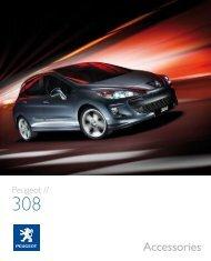 308 accessory brochure & price list June 2009.pdf - Robins & Day