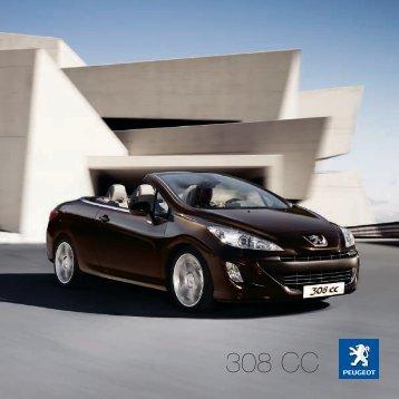 308 CC Brochure - Spire Peugeot