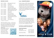 ROBY_CLUB_Flyer_Stand_Aug_2013 - Robinson Club Fleesensee