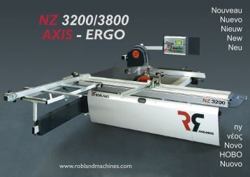 NZ 3200/3800 AXIS - ERGO - Robland