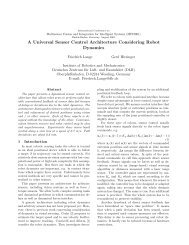 A Universal Sensor Control Architecture Considering ... - CiteSeerX