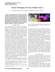 Robust 3D-Mapping with Time-Of-Flight Cameras - Autonomous ...