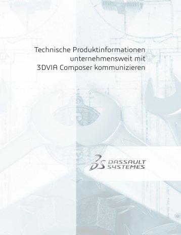 Technische Produktinformationen unternehmensweit mit 3DVIA ...